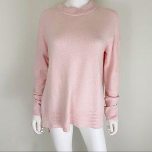 Lou & Grey Pink Sweater EUC Small LOFT